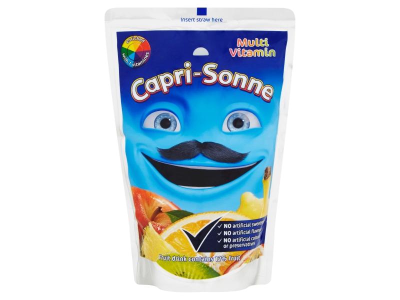 Capri Sonne Multivitamin ovocný nápoj 200ml
