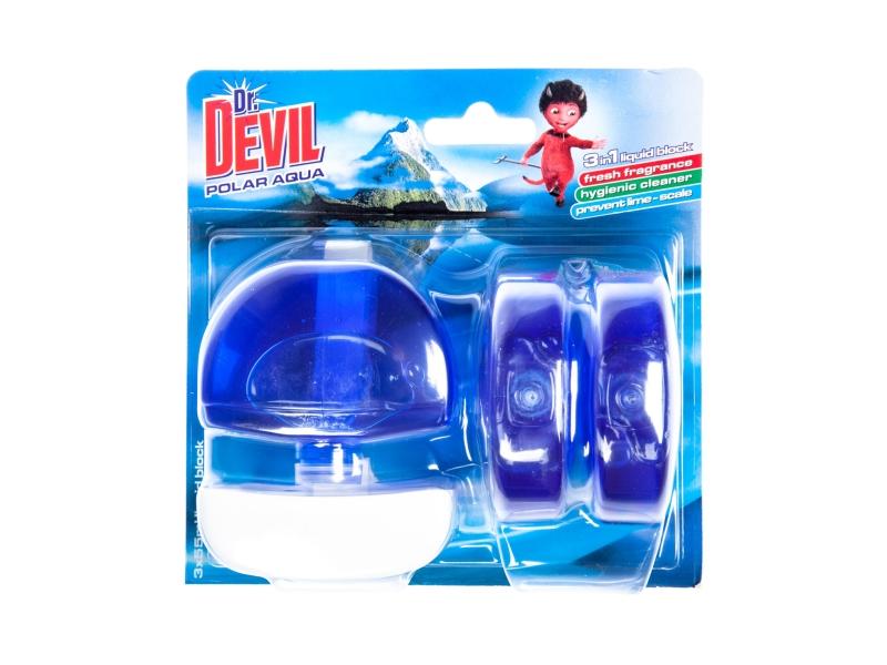 Dr. Devil WC Blok Polar Aqua 3x55g
