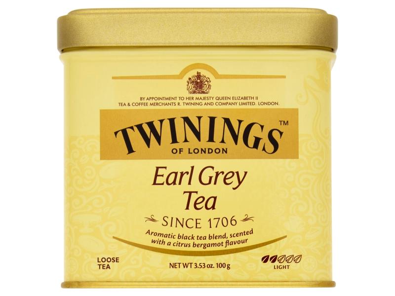 Twinings Earl Grey černý čaj sypaný 100g