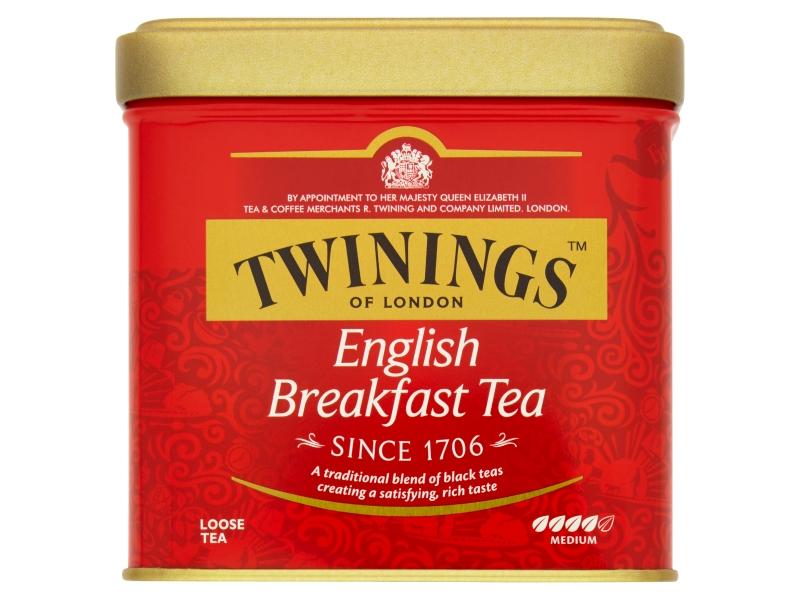 Twinings English Breakfast černý čaj sypaný 100g