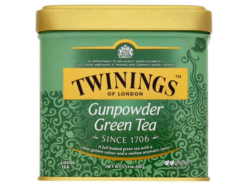 Twinings Gunpowder zelený čaj sypaný 100g