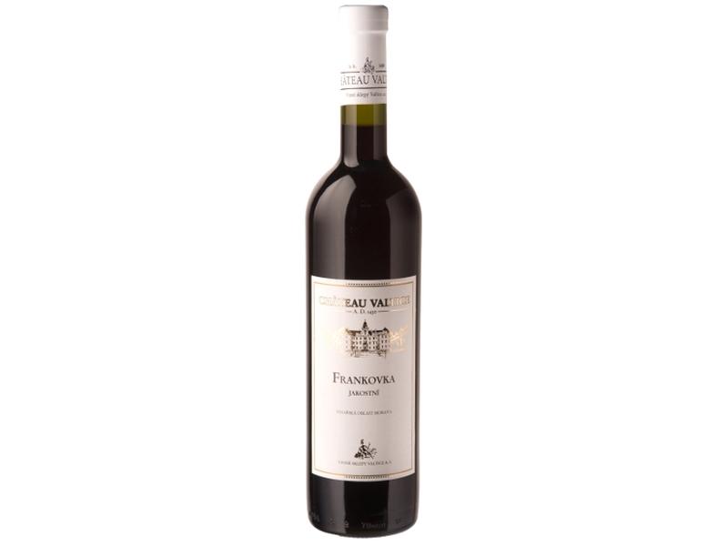 Château Valtice Frankovka jakostní víno červené suché 0,75l