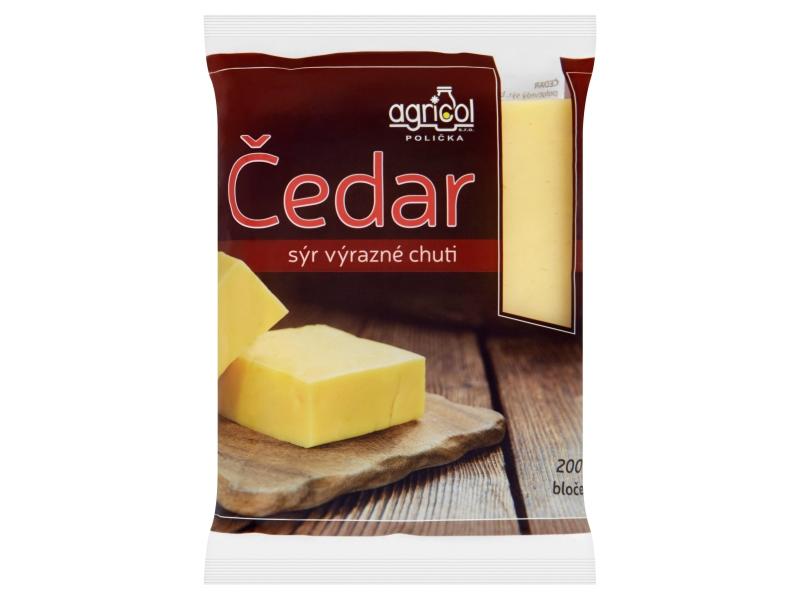 Agricol Čedar 50% bloček 200g