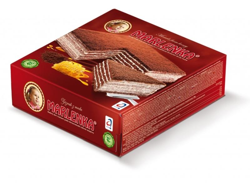 Marlenka Medový dort s kakaem 800g