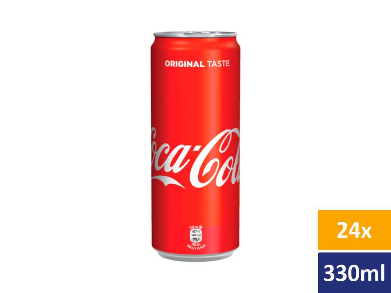 Coca Cola 24x 330ml, plech