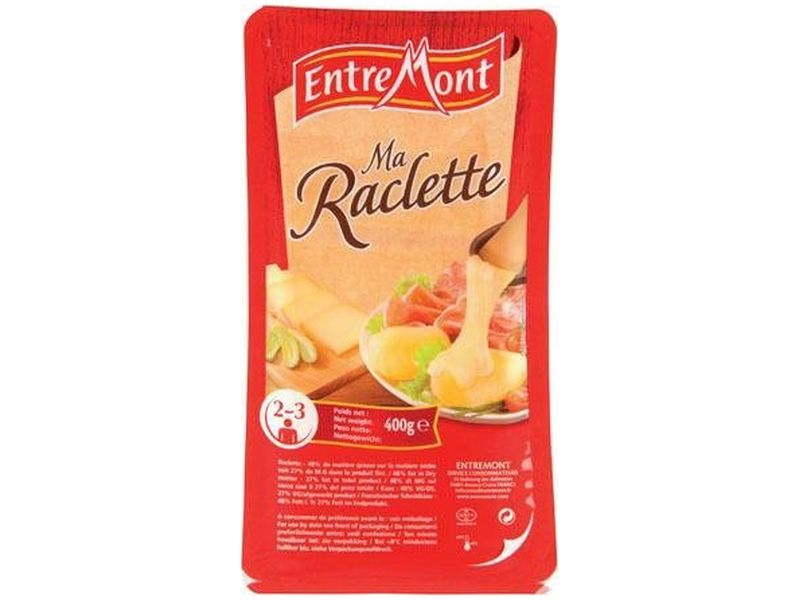 Entremont Raclette sýr plátky 400g