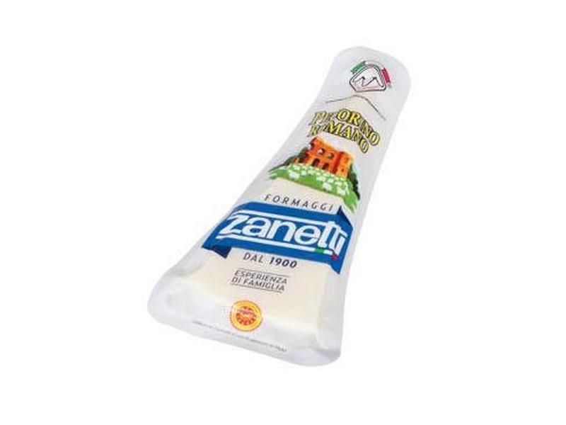 Zanetti Pecorino Romano Tvrdý sýr z ovčího mléka 200g