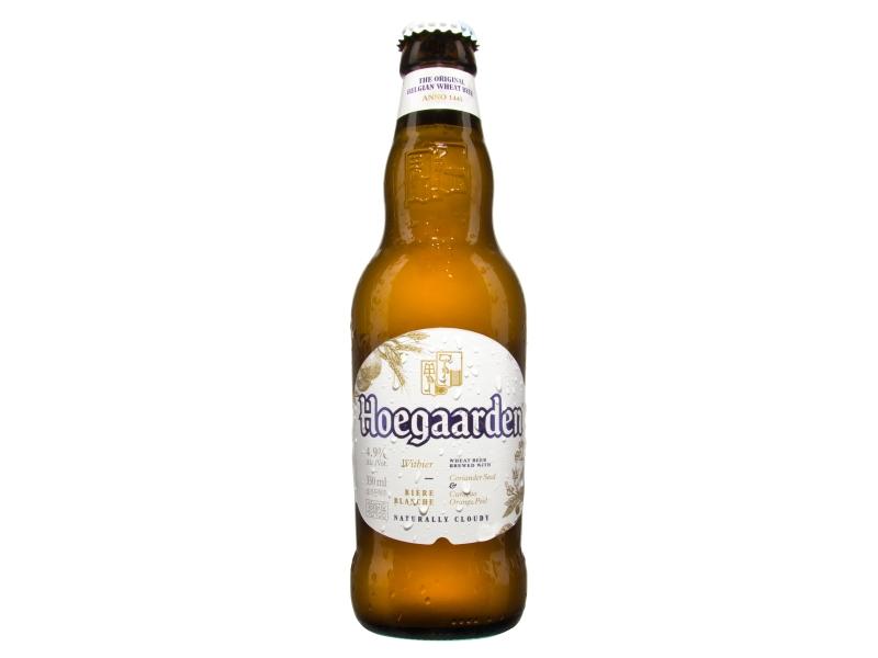 Hoegaarden Pivo ležák pšeničný ochucený 0,33l