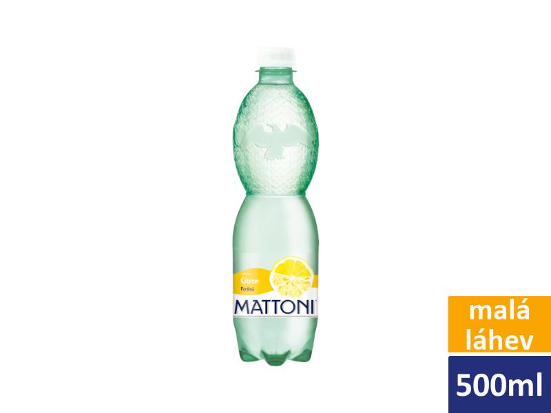 Mattoni Citron perlivá 12 x 0,5l