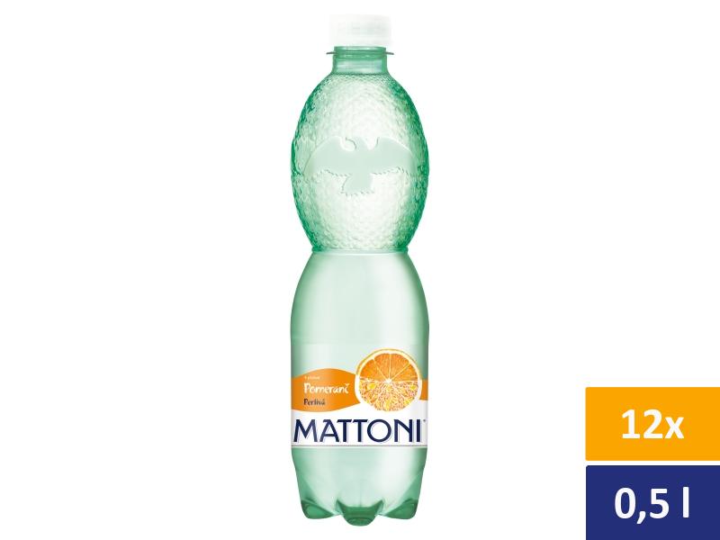 Mattoni Pomeranč perlivá 12 x 0,5l