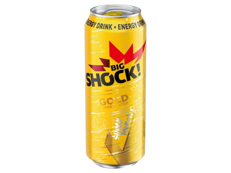 Big Shock! Gold energetický nápoj 500ml