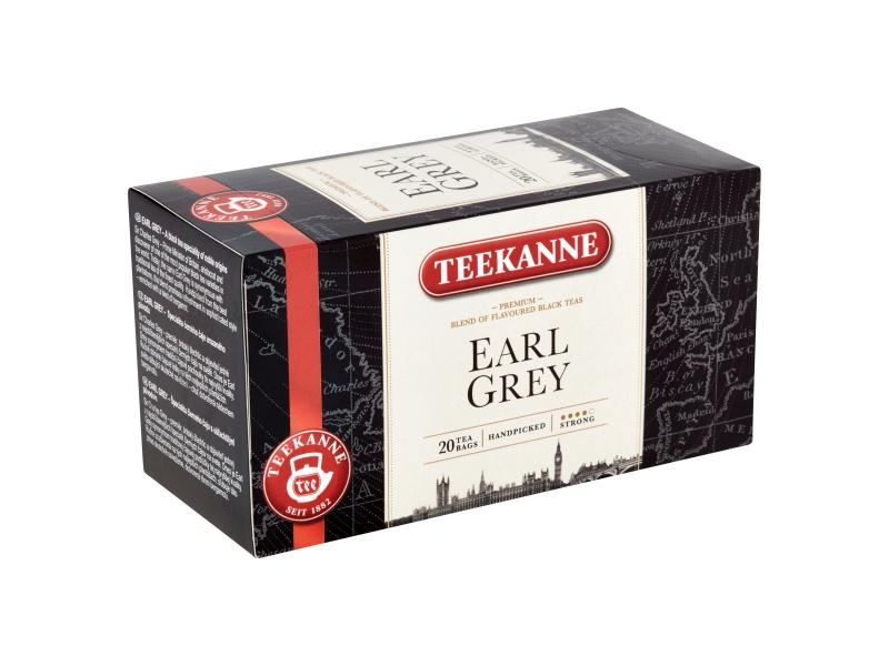TEEKANNE Earl Grey černý čaj aromatizovaný, 20 sáčků, 33g