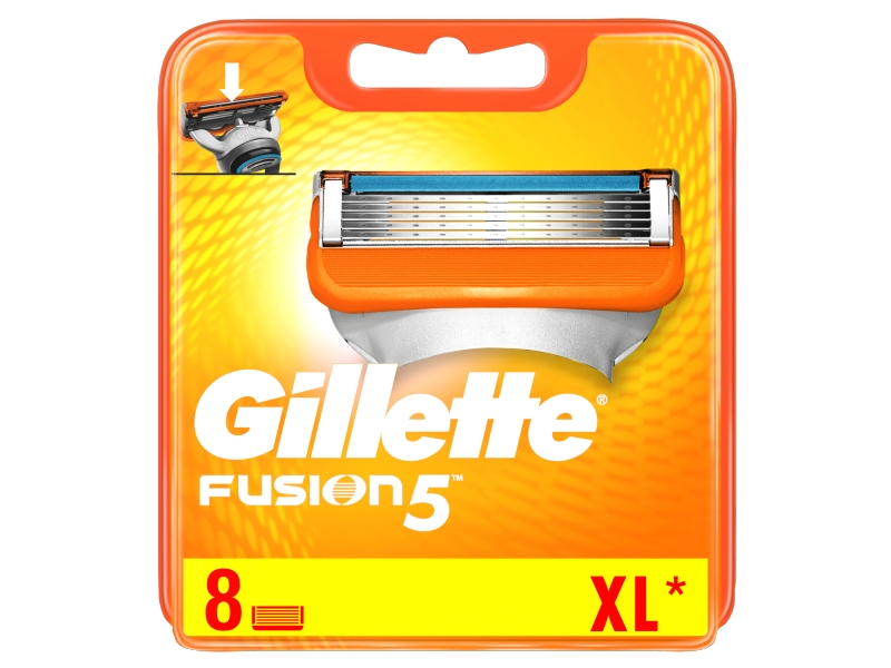 Gillette Fusion5 Náhradní Holicí Hlavice Pro Muže 8ks