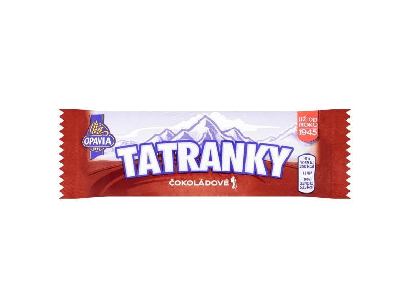 Opavia Tatranky Čokoládové 47g