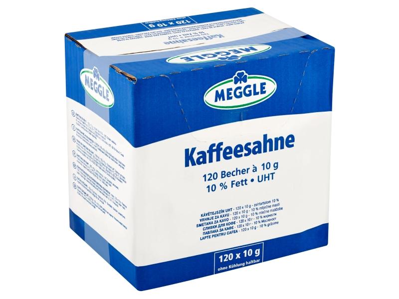 Meggle Smetana do kávy 10%, 120 x 10g
