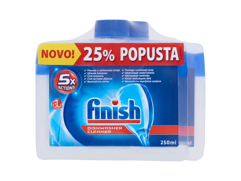 Finish Čistič myčky regular 2x250ml