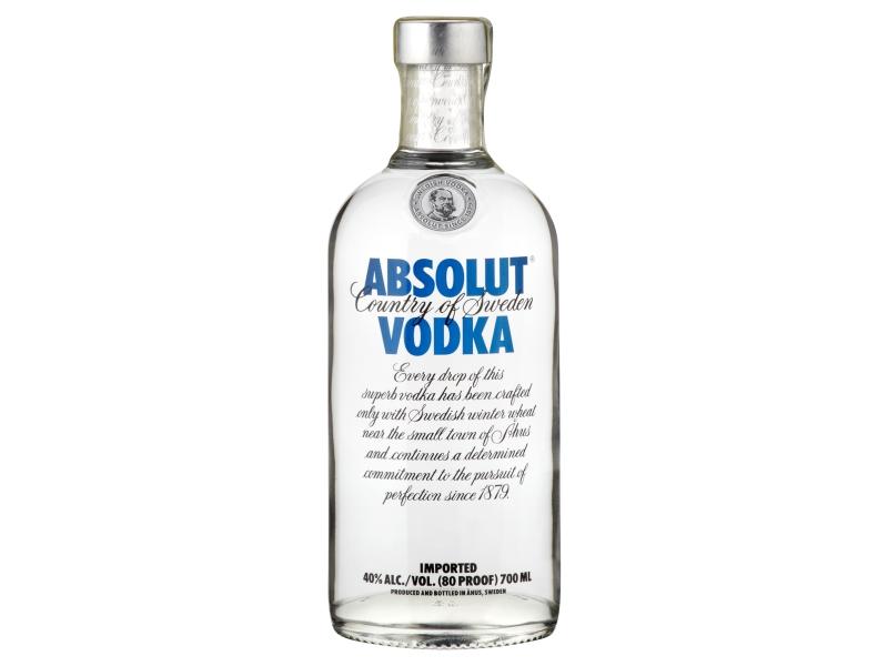 Absolut vodka 40% 700ml
