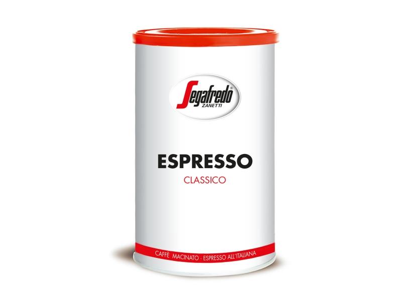 Segafredo Espresso Classico mletá káva 250g