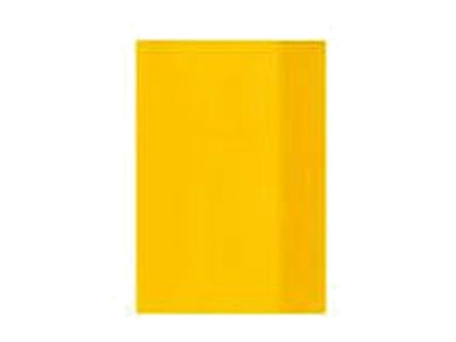 Obal na sešit A5 žlutý 1ks