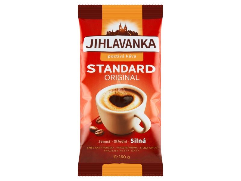 VÝPRODEJ Jihlavanka Standard káva mletá 150g