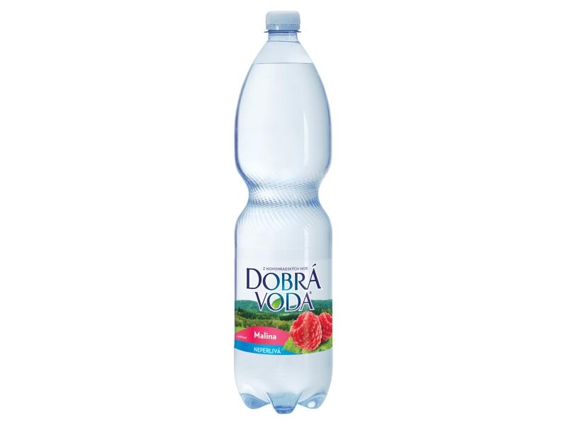 Dobrá voda Malina neperlivá 1,5l