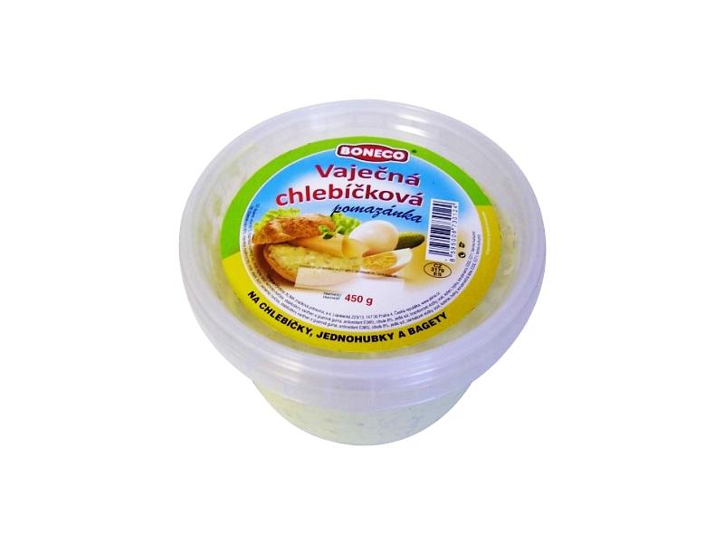 Boneco Vaječná chlebíčková pomazánka 450g, kbelík
