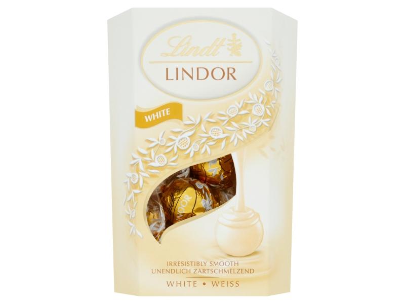 Lindt Lindor White pralinky z bílé čokolády, 200g