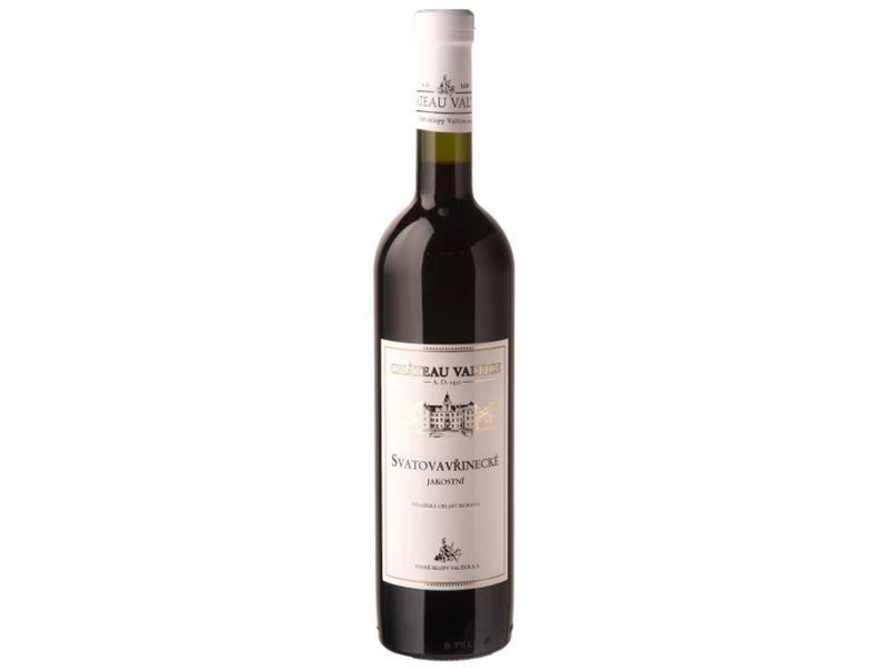 Château Valtice Svatovavřinecké jakostní víno červené suché 0,75l