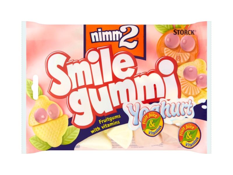 Nimm2 Smilegummi Yoghurt želé bonbóny 100g