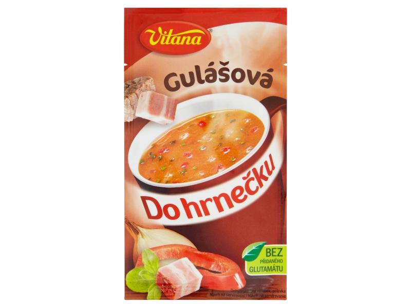 Vitana Do hrnečku Instantní gulášová polévka 18g