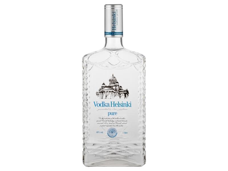 Helsinki Pure vodka 40% 1l