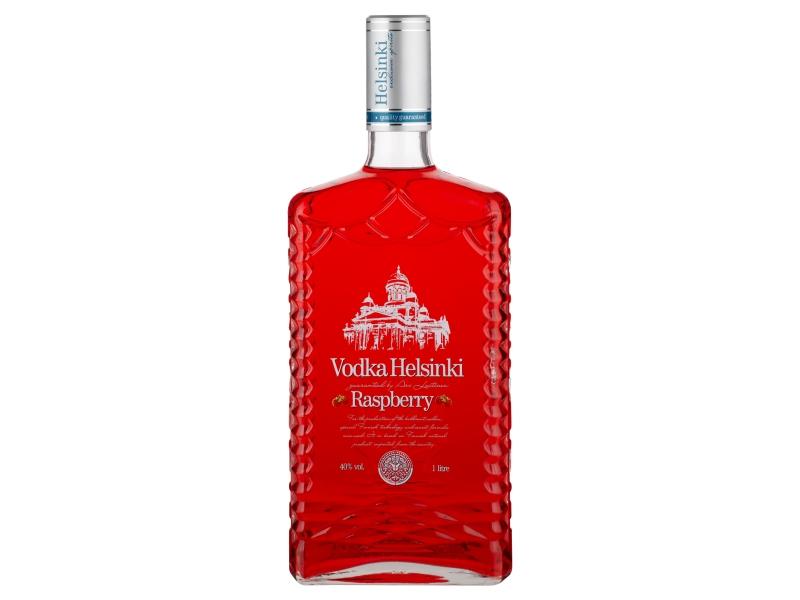 Helsinki Raspberry Vodka 40% 1l