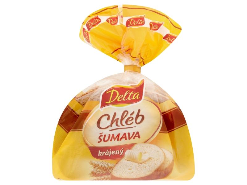 Delta Chléb Šumava balený krájený 250g
