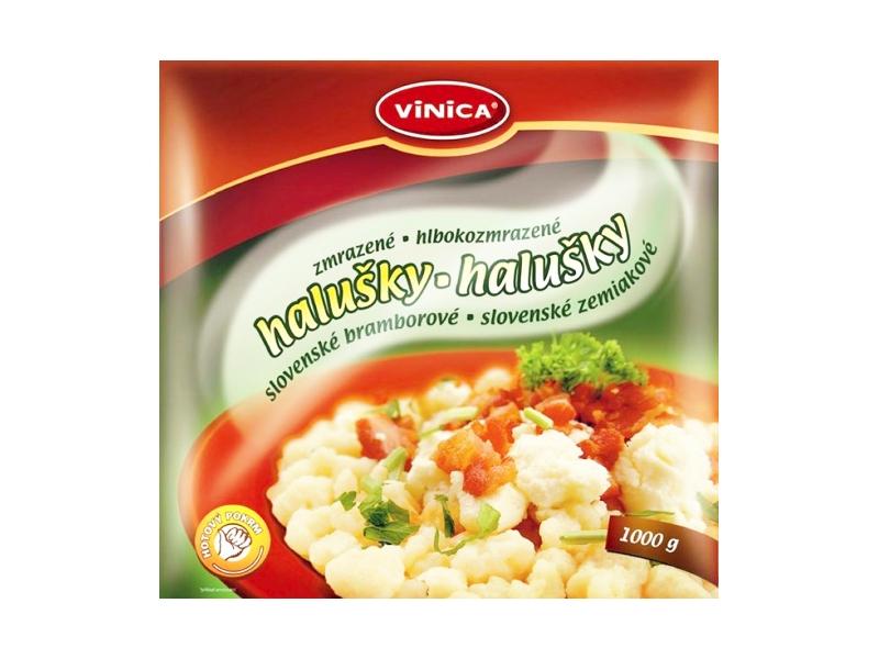 Vinica Slovenské bramborové halušky zmrazené 1kg