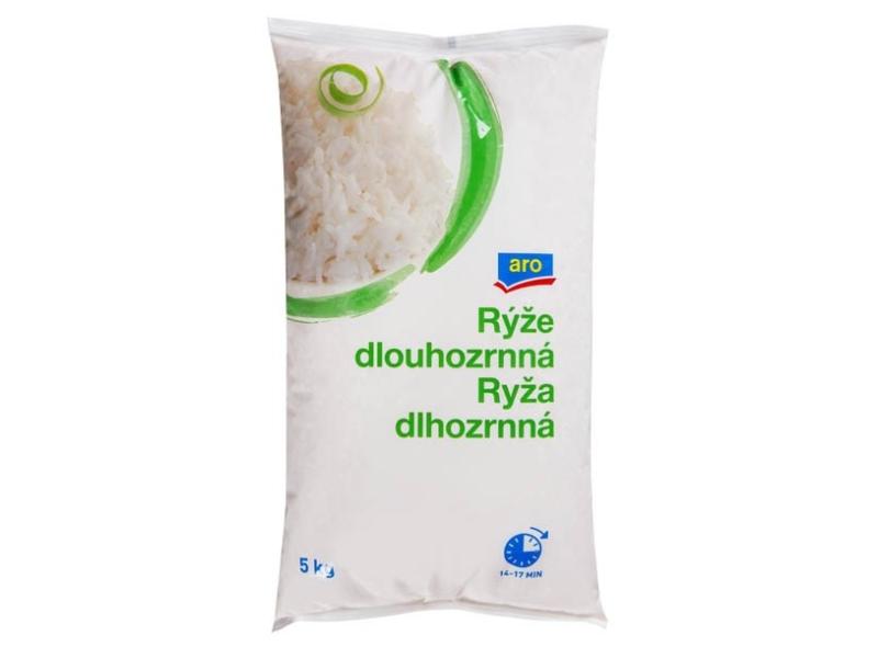 ARO Rýže dlouhozrnná 5kg