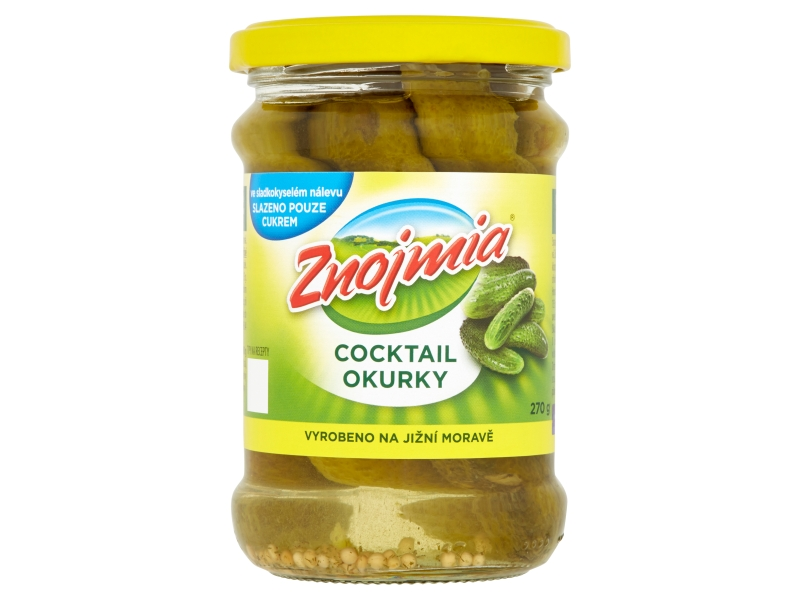 Znojmia Cocktail okurky 270g