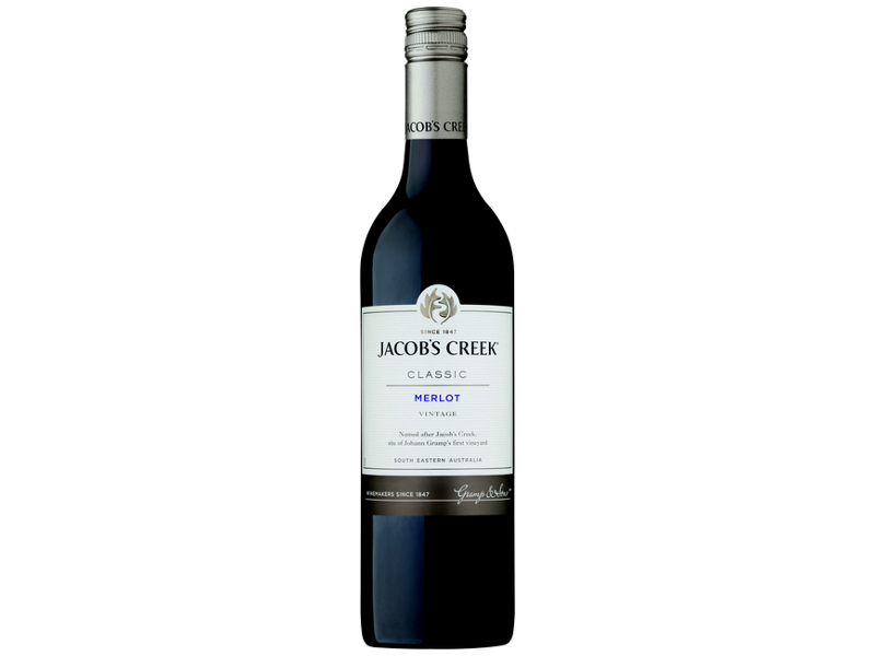 Jacob's Creek Classic Merlot 750ml