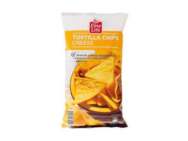 Fine Life Tortilla Chips Sýrové 200g