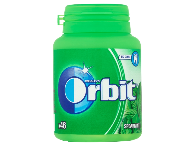 Orbit Spearmint žvýkačky (46 ks) 64g, dóza