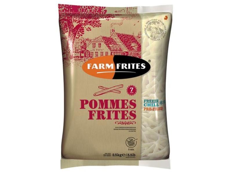 Farm Frites Hranolky 7mm mraž. 2,5kg