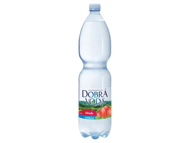 Dobrá voda Jahoda neperlivá 1,5l