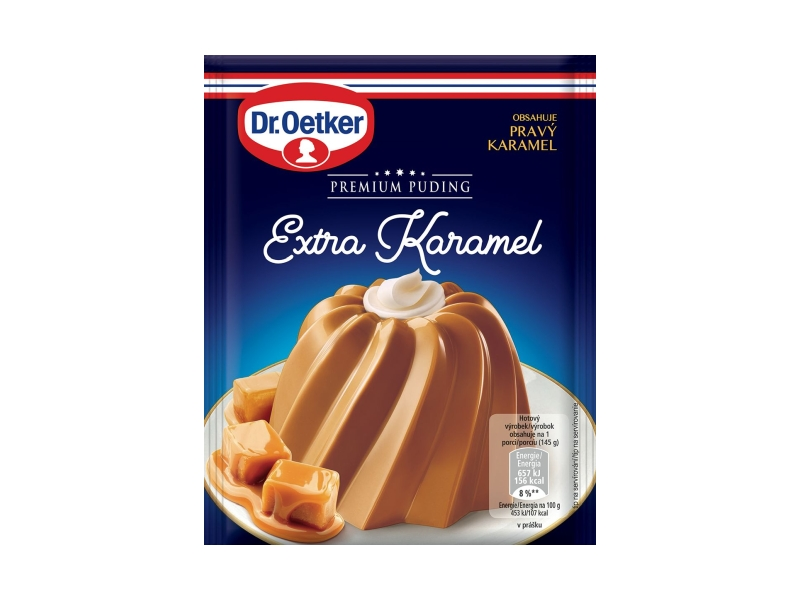 Dr. Oetker Premium Puding Extra Karamel, 42g