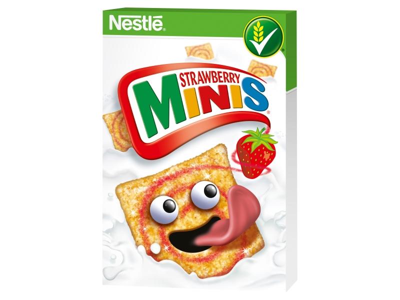 Nestlé STRAWBERRY MINIS 450g