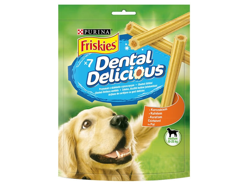 FRISKIES Dental Delicious Medium 200g