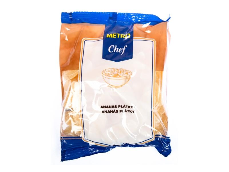Metro Chef Ananas plátky sušené 500g