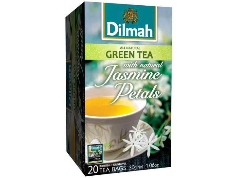Dilmah Jasmine zelený čaj 20 x 1,5g
