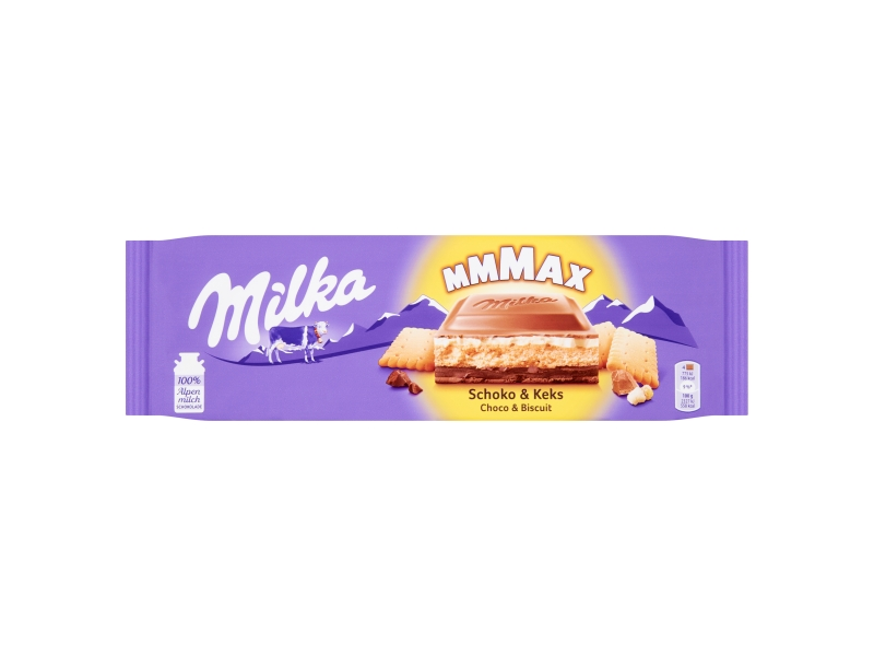 Milka Mmmax Choco & Biscuit 300g