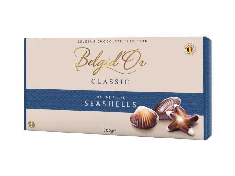 Belgid´Or Plody moře Bonboniéra 500g
