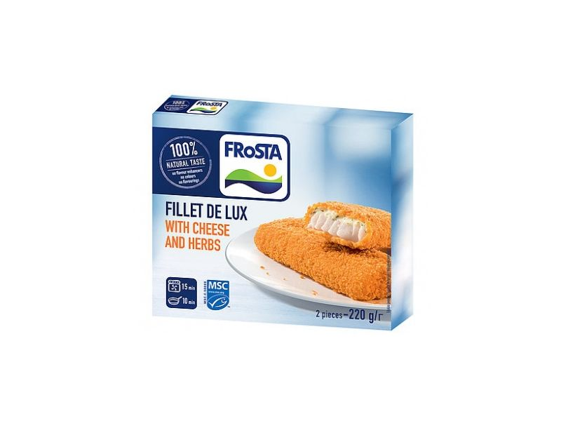 Frosta Fillet de lux se sýrem mraž. 220g