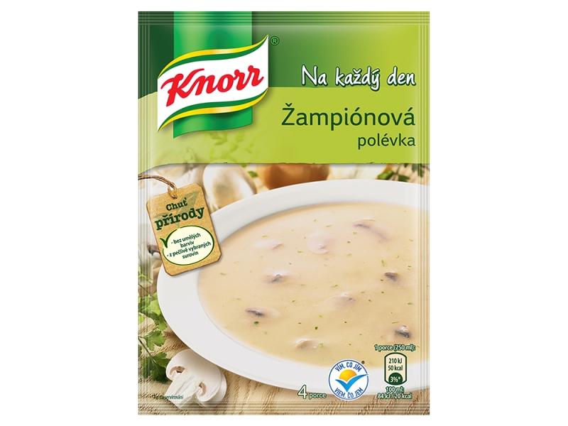Knorr Žampiónová polévka 56g